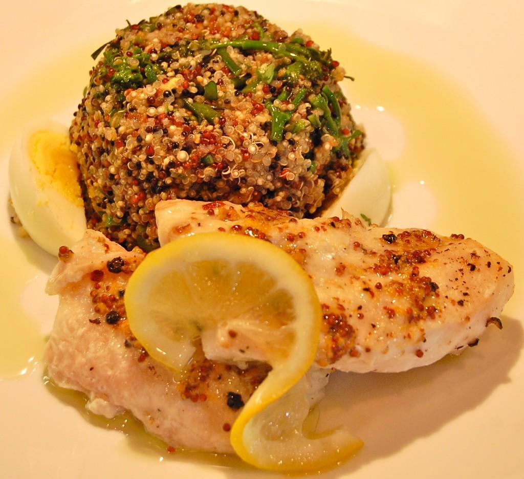 Grouper Quinoa