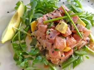 Tuna Tartare with Avocado and Lime