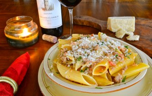 Pasta with Sausage, Fennel and Cream