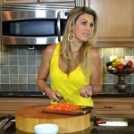 Isa Souza Master Chef, host and owner of TV Cooking Show Isa Vida Y Sabor