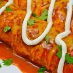 Thanksgiving Day Leftover Turkey Enchilada