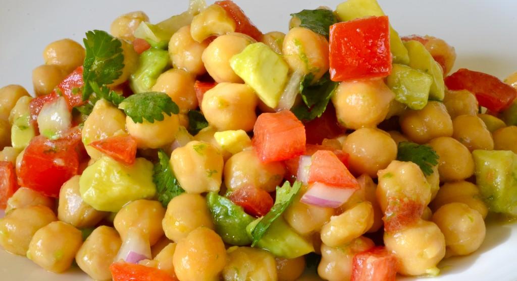 Avocado Mexican Bean Salad