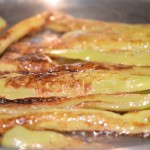 Fry Peppers until Golden Brown