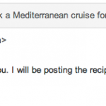 The Social Chef Reply