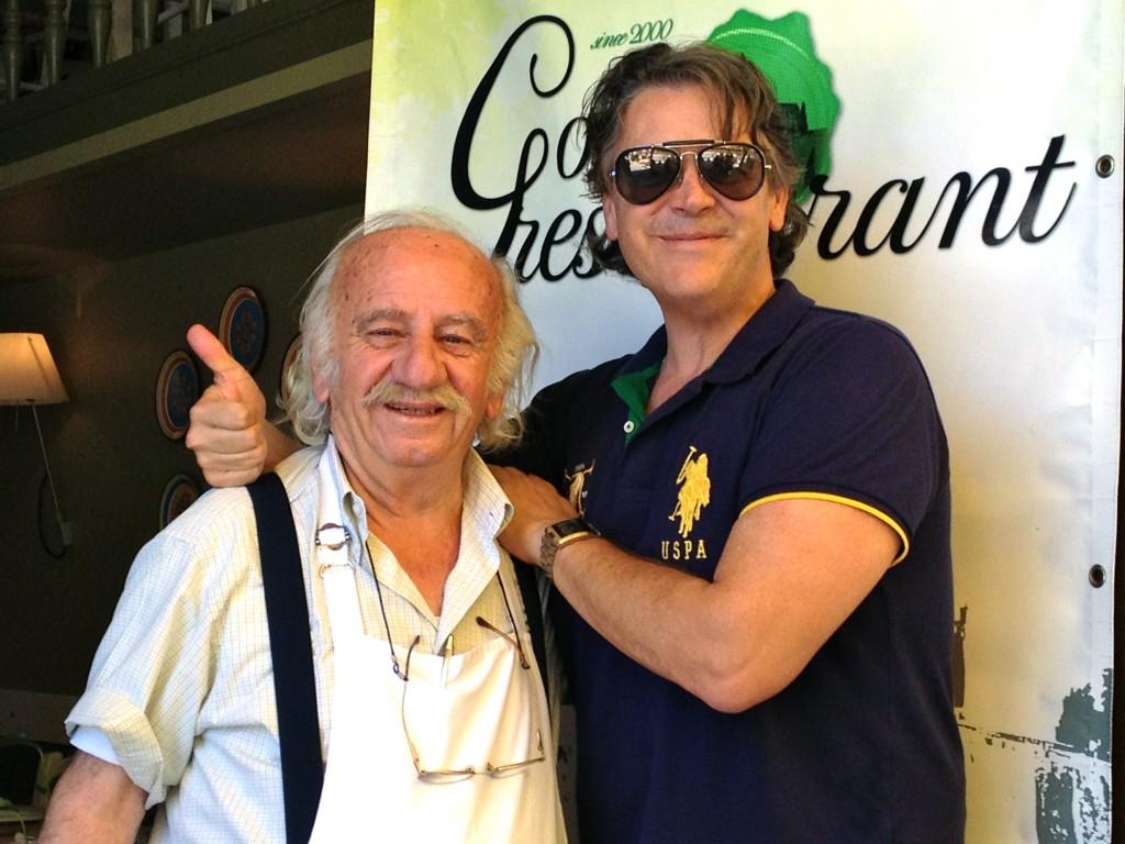 Gods Restaurant with Chef Giorgos Filias