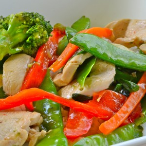 Thai Basil with Vegetables