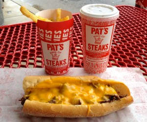 Pats Philly Chesesteak