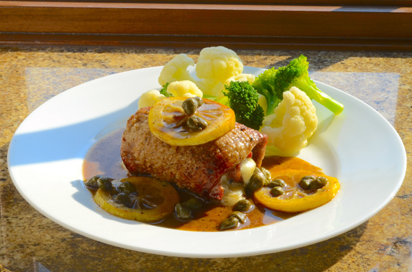 Veal Piccata Rolled 2