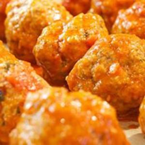 The Social Chef Sunday Meatballs