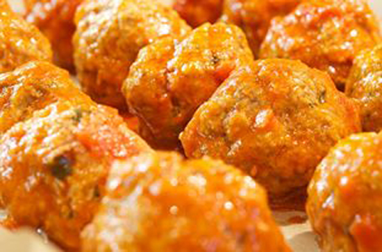 The Social Chef Sunday Meatballs