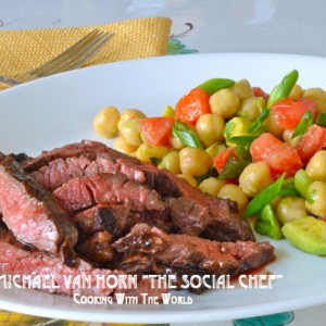 Skirt Steak and Beans