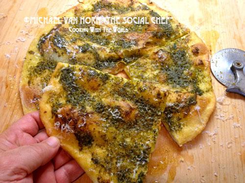 Pesto Pizza RL