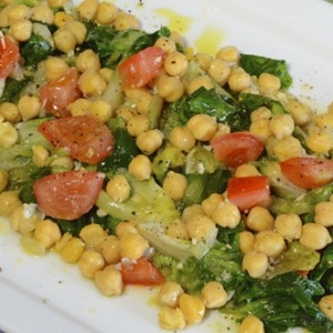 Garbonzo Beans and Escarole R