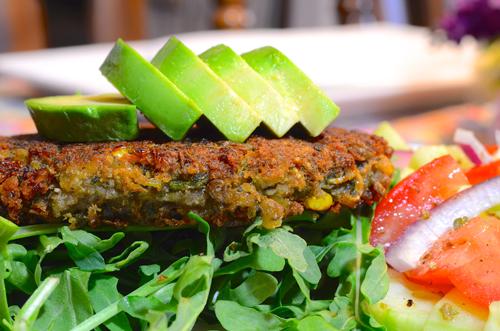 The Social Chef Lentil Burgers