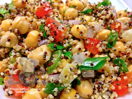 Master Quinoa Chickpeas and Lime
